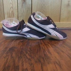 📣Xhilaration Brown Pink Low Sole Shoe Sneaker 5